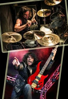 Rudy Sarzo and Vinnie Appice........