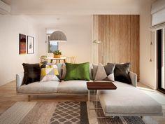 Mona Vale apt | Living room | Cher Geometry