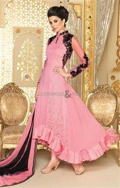 #Newanarkali #salwarsuits paralel kameez back #neckdesigns #designerwear…