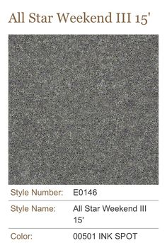 Carpet Full Court 12 52y46 Ink Spot Flooring By Shaw
