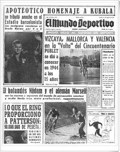 Despedida a Kubala y homenaje en 1961