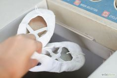 How to Clean Soft Ballet Slippers: 6 Steps (with Pictures)