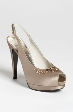 wedding shoes - Stuart Weitzman 'Necklace' Pump available at #Nordstrom