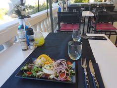 Goatcheese salad with a vieuw