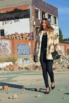 sarixrocks faux fur COAT #kissmylook