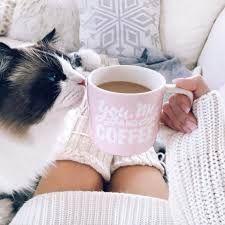 Картинки по запросу девушка с кофе на аву