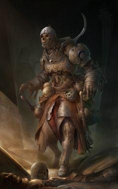 #Undead #warrior #skeleton