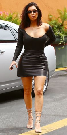 Kim Kardashian West's Best Street Style Moments - May 8, 2017 from InStyle.com