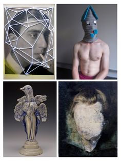 From October 18 to November 12 at Hampden Gallery: HEAD, curated by D. Dominick Lombardi.