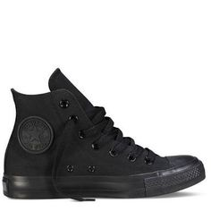 converse shoes black hightop - Google Search