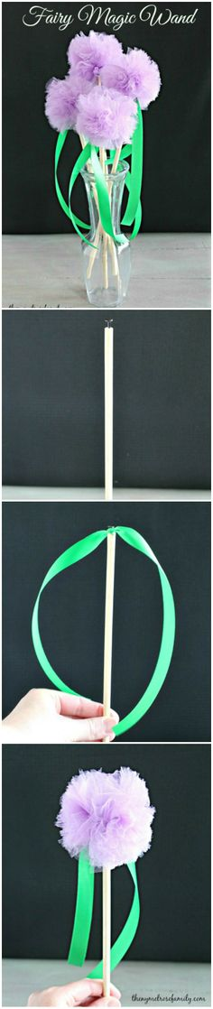 Make your own fairy wand with this magical craft!