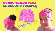 Mejores 72 imágenes de Gorros de crochet en Pinterest  49bd7224123