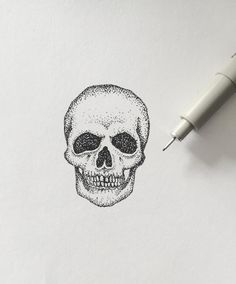Fresh WTFDotworkTattoo Find Fresh from the Web beginning! #skull #skulls #tiny…