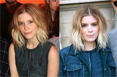 The Best Short Haircuts for Women: Kate Mara's Shaggy Long Bob