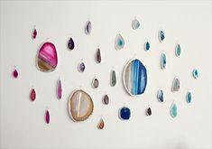 Agate Slice Art Wall