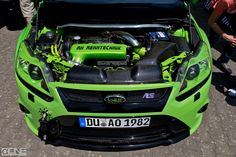 Ultimate Green Ford Focus RS mk2 Tuning