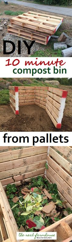 Quick and easy classy looking compost project 10 minute pallet compost bin. Quick and easy classy looking compost minute pallet compost bin. Quick and easy classy looking compost project
