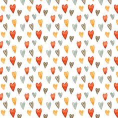 Background, pattern, wallpaper, illustrations, hearts, art, colors