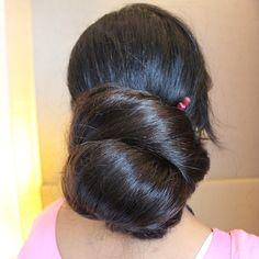Bun Hairstyles For Long Hair, Braids For Long Hair, Long Curly Hair, Beautiful Long Hair, Gorgeous Hair, Amazing Hair, Long Indian Hair, Long Silky Hair, Long Hair Play
