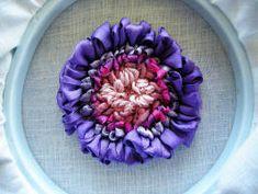 punchneedle flower