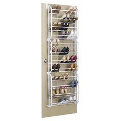 View Closet Organizers - Whitmor 36 Pair Over the Door Shoe Rack $20