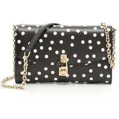 Polka Dots Dolce Clutch ($845) ❤ liked on Polyvore featuring bags, handbags, clutches, dolce gabbana purses, polka dot purse, polka dot handbags and dolce gabbana handbags