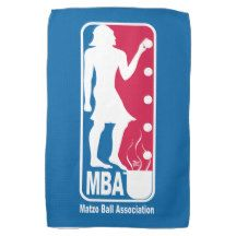 Matzo Ball Association Towels for Passover; Pesach kitchen Towel / by TsipiLevin