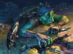 Goblin scout by Igor Grechanyi | Fantasy | 2D | CGSociety