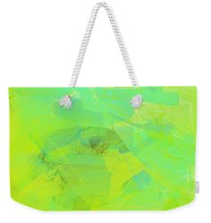 Weekender - abstract living  #weekender  #bags   #abstract  #totebag   #fineartamerica  #fashion   #travellight  #green