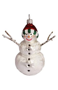 Nordstrom at Home Snowman Ornament available at #Nordstrom