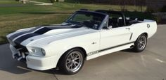 Heavily Modified 1968 Shelby Mustang Convertible Eleanor Style