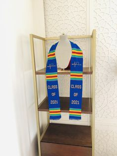 Custom graduation stoles Class of 2021 Kente sash, nursing graduation stole #graduation #nursegradstole #kentestole #personalizedstoles #fraternitystoles #sororitystole Graduation Stole, Nursing Graduation, Graduation Pictures, Sash, Special Day, Weaving, Ghana, Handmade Gifts, Conversation