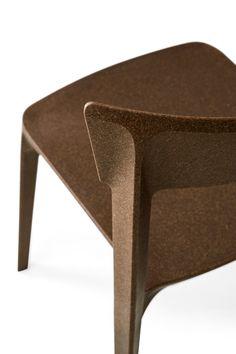 Contemporary style plastic chair SKIN | Polycarbonate chair - Calligaris