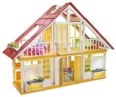 Barbie Malibu Dream House.  I can't tell you how many hours I played with this!