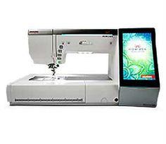 Janome Horizon MC15000 Sewing And Embroidery Machine