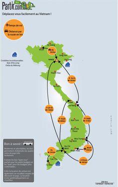 Vietnam Map, Vietnam Tourism, Vietnam Destinations, Vietnam Travel Guide, Vietnam Voyage, Hanoi, Ho Chi Minh Ville, Buddhist Pagoda, Trekking