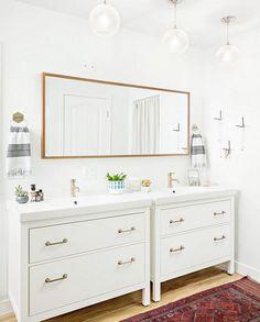 Bathroom reno inspo. Modern farmhouse bathroom reno. Bathroom renovation…