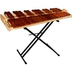 Marimba Warehouse MPM Maxey 3 Octave Practice Marimba with Stand (MPM w/X STAND KIT)