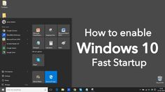 Windows 10 Fast startup accomplishes fast boot of Windows by saving some of computer's system files to a hibernation file upon shutdown giving a fast boot.