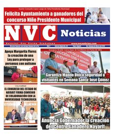 Edición digital No. 60  http://issuu.com/nvcnoticias5/docs/nvc_edicion_digital_no._60