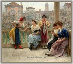 Eugenio de Blaas - Eugene Von Blaas (1843 – 1931) | Avusturyalı Ressam - Sayfa 2 - Forum Gerçek