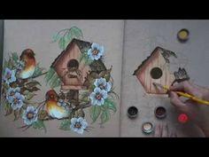 Pássaros em Emborrachado (Parte 2/Aula 7) - YouTube