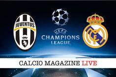 Juventus-Real Madrid cronaca in diretta risultato in tempo reale