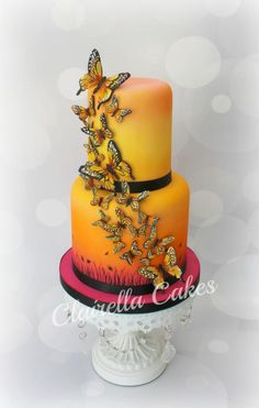 One of my most popular and most asked for cake designs – EVER! I have lost count of the amount of times I have made this cake – but I have to say I still love her! LOL