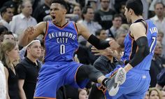 Russell Westbrook reportedly agrees to contract extension = Oklahoma City Thunder star point guard Russell Westbrook is working toward a contract renegotiation and extension with the Oklahoma City Thunder, according to The Vertical's Adrian Wojnarowski. Kevin Nesgoda of.....