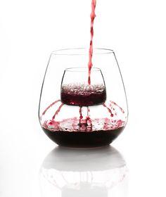 Stemless Aerating Wine Glass - Set of 2