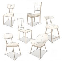 Upholstered Chairs DIY No Sew - - - Bronze Metal Dining Chairs Drawing Furniture, Chair Drawing, Furniture Sketches, Metal Dining Chairs, Outdoor Chairs, Tire Chairs, Outdoor Lounge, Dining Table, Types Of Furniture