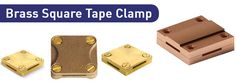 We are manufacturing and exporting #BrassSquareTapeClamps. These clamps are suitable for 4 way connection and used with crossing over tapes, t joints and for making straight through joints. Visit @ http://www.copperearthingaccessories.com/products/copper-earthing-clamps/brass-square-tape-clamp/