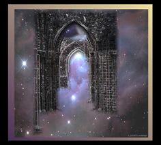 Magical Door Iron Maiden, Alchemist, Doorway, Beautiful World, Portal, Fantasy Art, Scenery, Places To Visit, Heaven