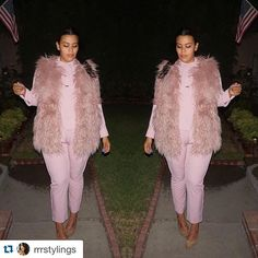 Loving this blush on @rrrstylings!!!